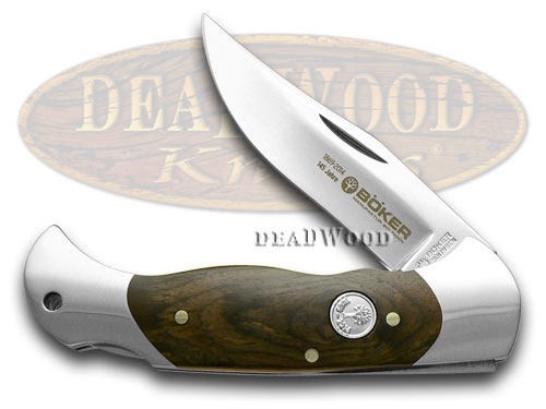 Boker Tree Brand 145th Anniversary Grenadill Wood 1/145 Scout Pocket Knife Knives