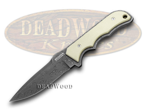 Boker Tree Brand Micarta Amico Damascus 1/140 Limited Edition Fixed Blade Knife Knives