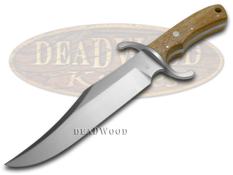 Boker Tree Brand Chestnut Fixed Blade Bowie Pocket Knife Knives