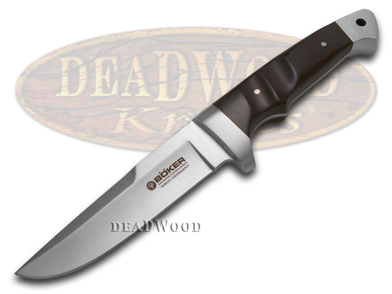 Boker Tree Brand Burgundy Wine Micarta Vollintegral Knife Knives