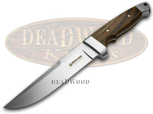 Boker Tree Brand Walnut Wood Vollintegral Fixed Blade Knife Knives