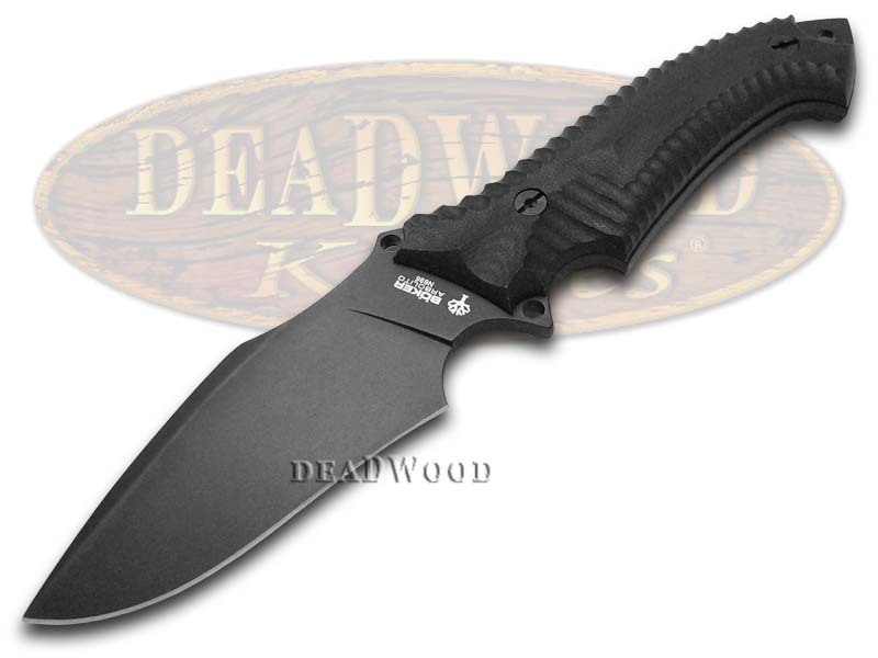 Boker Tree Brand Black Micarta Buffalo Soul II Fixed Blade Stainless Knife Knives