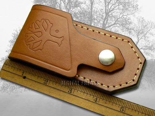 boker tree brand brown leather bo2002 knife belt sheath ebay. Black Bedroom Furniture Sets. Home Design Ideas