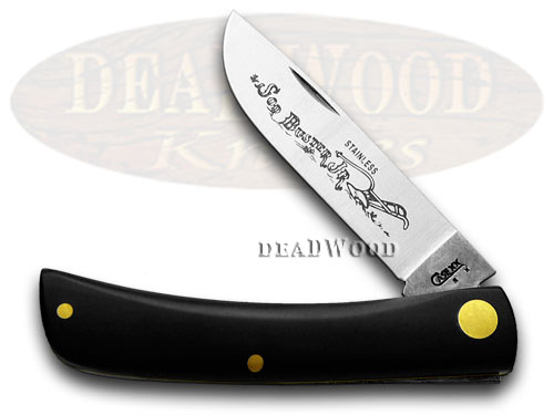 Case xx Black Synthetic Sodbuster Pocket Knife Knives