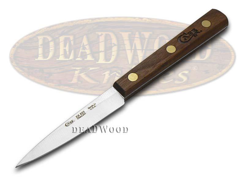 case xx 9 piece wooden block walnut stainless kitchen case xx john wayne half whittler knife