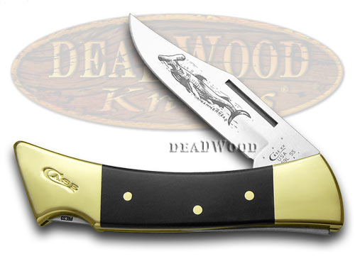 Case xx Black Delrin Hammerhead Lockback Pocket Knife Knives