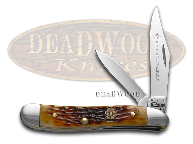 Case Knives CASE XX Boy Scouts of America Antique Bone Peanut Stainless Pocket Knife Knives at Sears.com