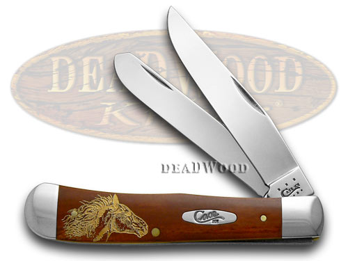 Case xx Chestnut Bone Wild Mustang 1/500 Pocket Knife Knives