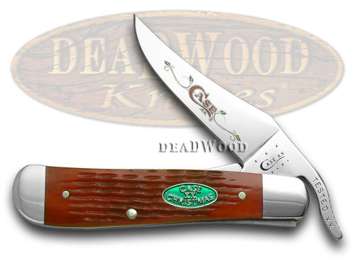 Case xx Red Jigged Bone Christmas 1/700 Russlock Pocket Knife Knives
