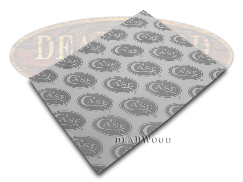 Case xx White & Gray Wrapping Tissue Paper for Pocket Knives