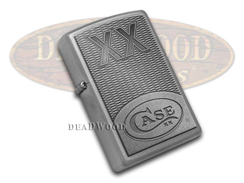 Case xx Logo Chrome Zippo Windproof Lighter