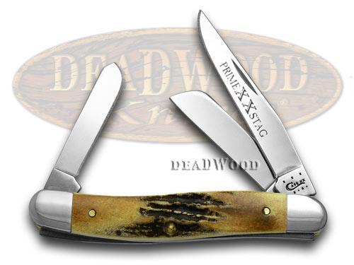 Case Knives CASE XX Genuine Prime Stag Medium Stockman Pocket Knife Knives at Sears.com