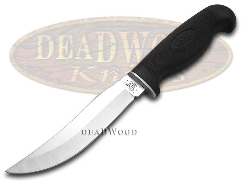 Case xx Lightweight Black Synthetic Swept Skinner Fixed Blade Hunter Stainless Knife Knives