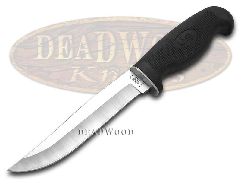 Case xx Lightweight Black Synthetic Clip Fixed Blade Hunter Stainless Knife Knives