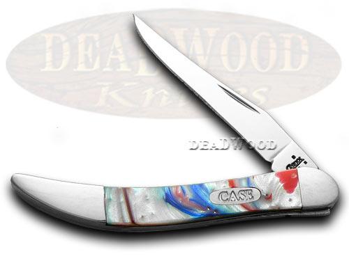 Case xx Star Spangled Banner Corelon Toothpick Pocket Knife Knives