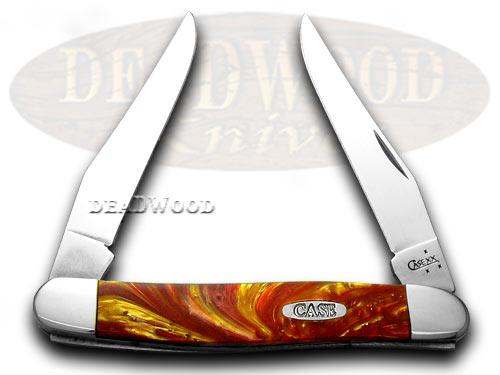 Case xx Golden Ruby Corelon Muskrat Pocket Knife Knives
