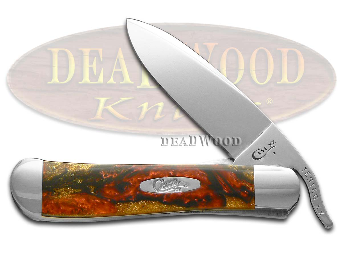 Case xx Hades Corelon Russlock Stainless Pocket Knife Knives