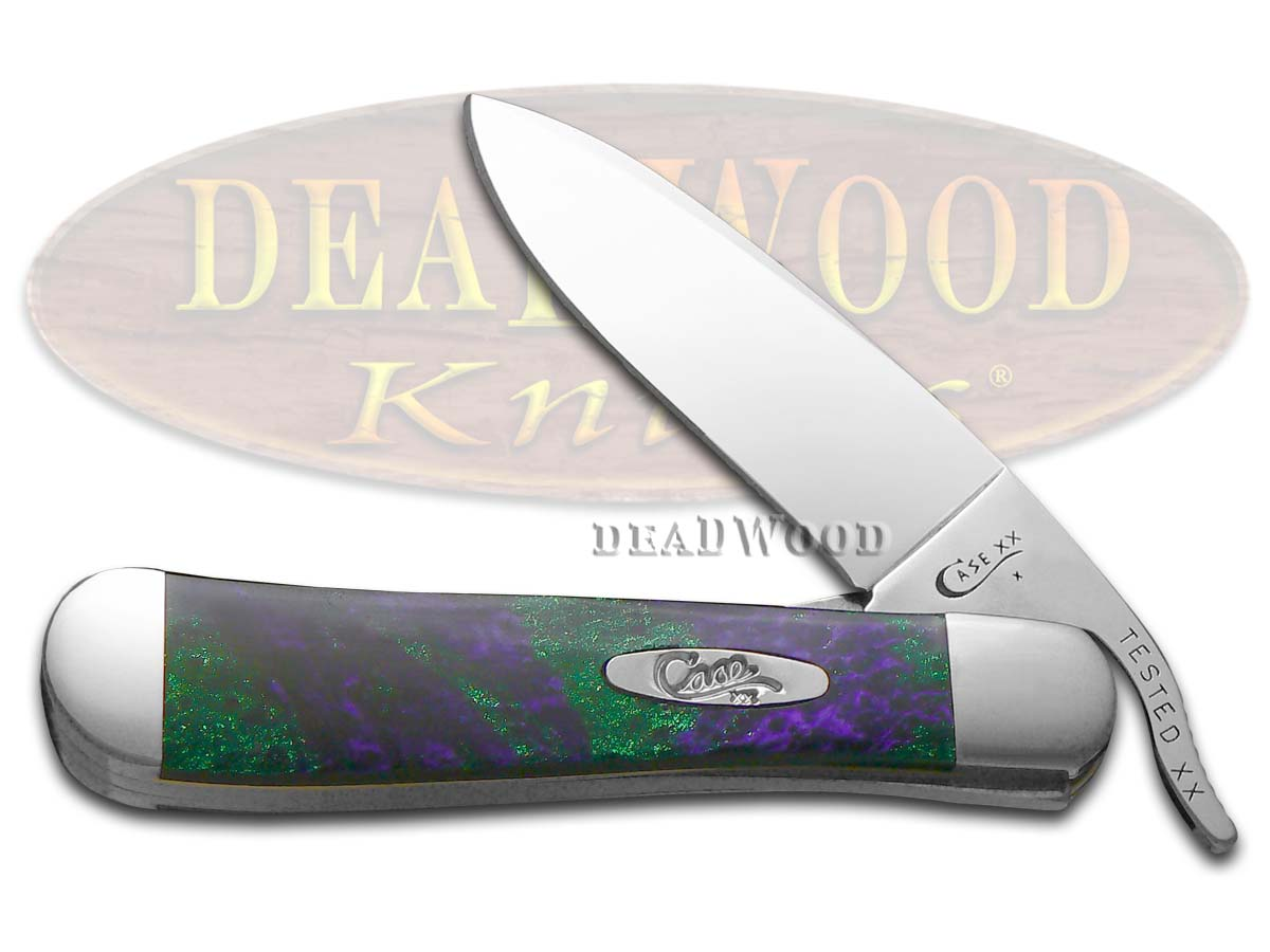 Case xx Picasso Corelon Russlock Stainless Pocket Knife Knives