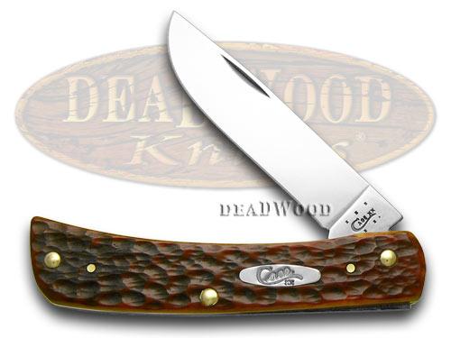 Case xx Chestnut Jigged Bone Sod Buster CV Pocket Knife Knives