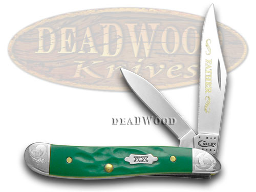 Case Knives CASE XX Rough Green Father Peanut 1/500 Pocket Knife Knives at Sears.com