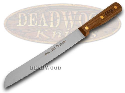 Case xx Household Cutlery Kitchen Walnut Wood Bread Slicer Knife Knives