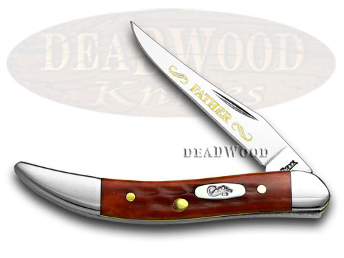Case xx Father Red Bone Toothpick 1/500 Pocket Knife Knives