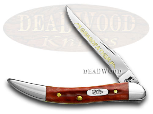 Case xx Grandfather Red Bone Toothpick 1/500 Pocket Knife Knives