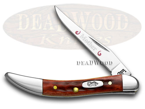 Case xx Mother Red Bone Toothpick 1/500 Pocket Knife Knives