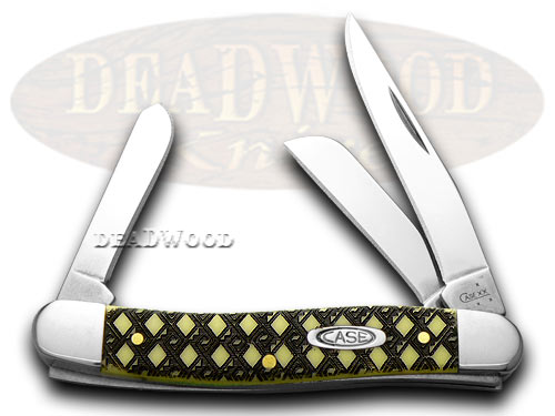 Case xx Celtic Maze Yellow Stockman 1/1000 Pocket Knife Knives