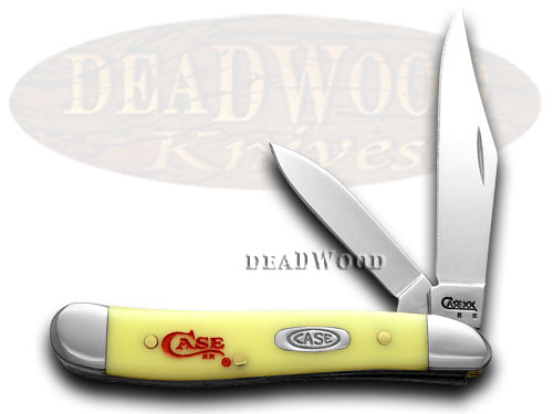 Case xx Yellow Peanut Logo 1/500 Pocket Knife Knives