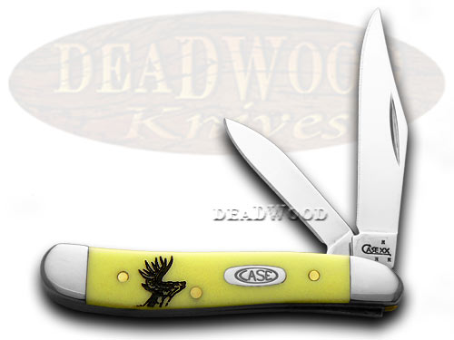 Case xx Yellow Deer Scene Peanut 1/1000 Pocket KnifeKnives