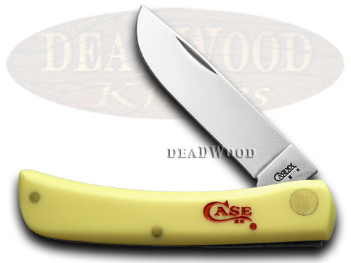 Case xx Yellow Sod Buster 1/500 Pocket Knife Knives
