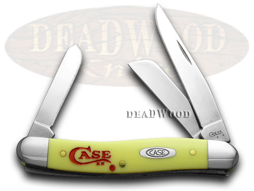 Case xx Yellow Stockman 1/500 Pocket Knife Knives