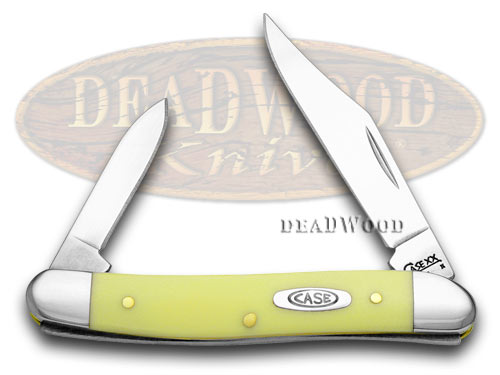 Case xx Yellow Synthetic Pen Pocket Knife Knives