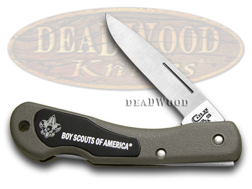 Case xx Boy Scouts Zytel Mini Blackhorn Pocket Knife Knives