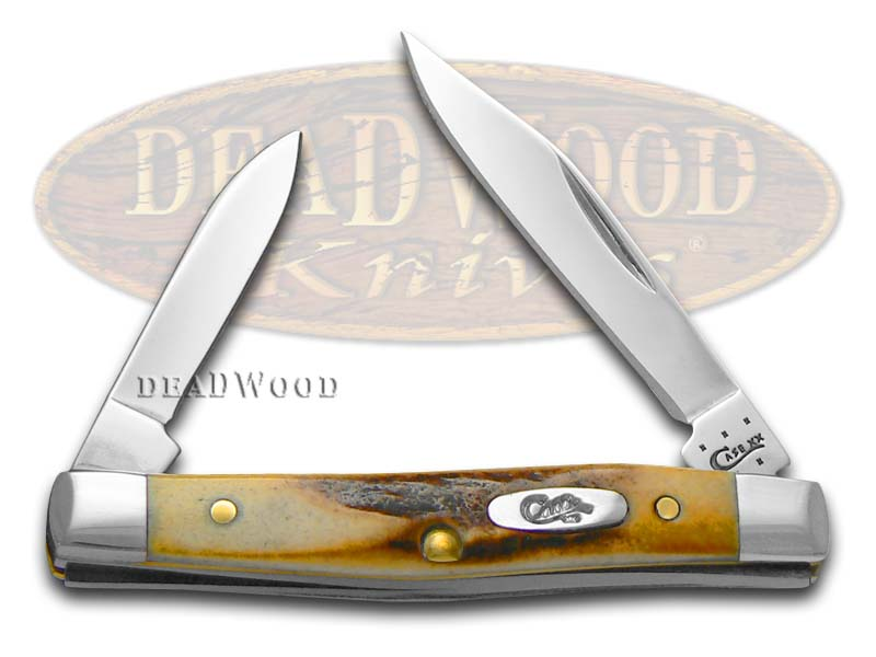 Case xx Genuine Sambar Stag Small Pen Stainless Pocket Knife Knives