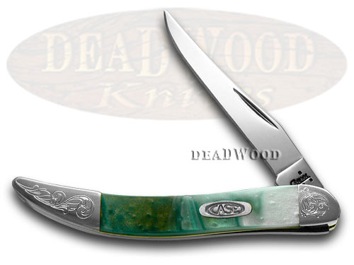 Case xx Engraved Bolster Series Genuine Cloudland Toothpick Pocket Knife Knives