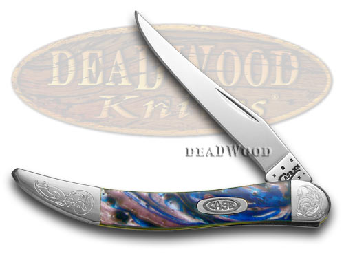 Case xx Engraved Bolster Series Lolly Pop Corelon Toothpick Pocket Knife Knives