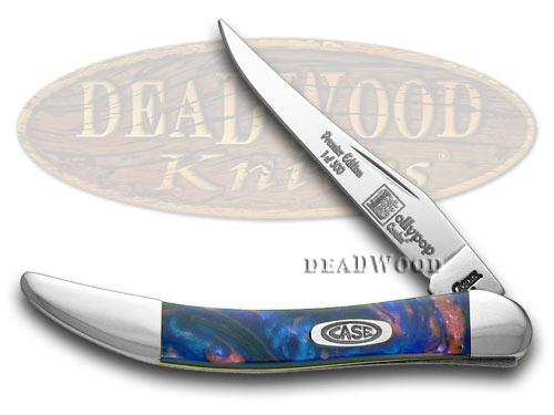 Case xx Lollypop Genuine Corelon Toothpick 1/500 Pocket Knife Knives