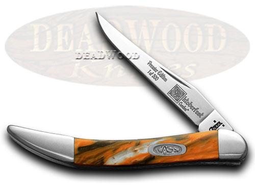 Case xx Genuine Oktoberfest Tiny Toothpick 1/500 Pocket Knife Knives