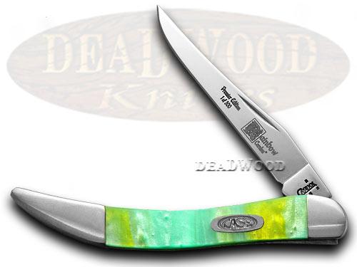 Case xx Genuine Rainbow Corelon 1/500 Toothpick Pocket Knife Knives