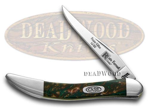 Case xx Rain Forrest Genuine Corelon Toothpick 1/500 Pocket Knife Knives