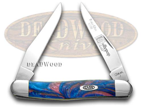 Case xx Lollypop Genuine Corelon Muskrat 1/500 Pocket Knife Knives