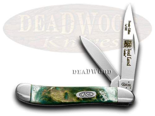Case xx Genuine Cloud Land Peanut 1/500 Pocket Knife Knives