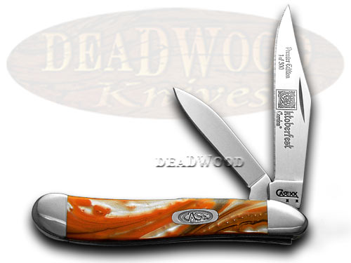 Case xx Genuine Oktoberfest Peanut 1/500 Pocket Knife Knives