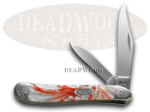 Case xx Engraved Bolster Series Genuine Peppermint Corelon Peanut Pocket Knives