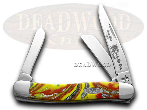 Case xx Genuine Fire in Box Corelon 1/500 Stockman Pocket Knife Knives