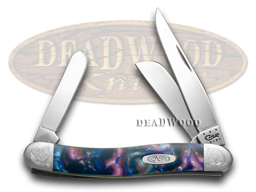 Case xx Engraved Bolster Series Lolly Pop Corelon Stockman Pocket Knife Knives