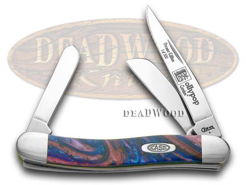Case xx Lollypop Genuine Corelon Stockman 1/500 Pocket Knife Knives