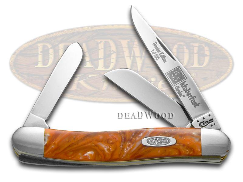 Case xx Genuine Oktoberfest Stockman 1/500 Pocket Knife Knives